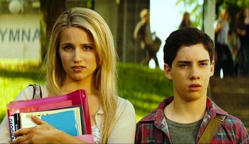 Dianna Agron and John D'Leo face different problems at their new school in 'The Family'