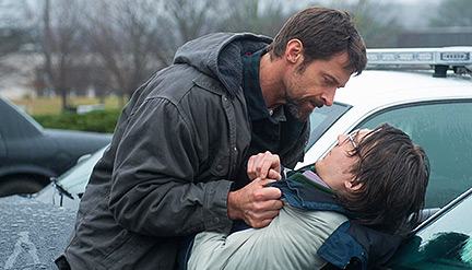 Hugh Jackman and Paul Dano in 'Prisoners'