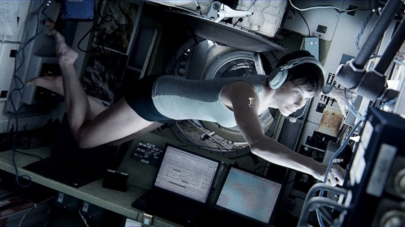 Sandra Bullock spends a good portion of film in nothing but her skivvies