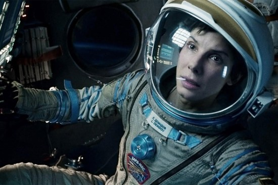 Sandra Bullock fights to survive in 'Gravity'