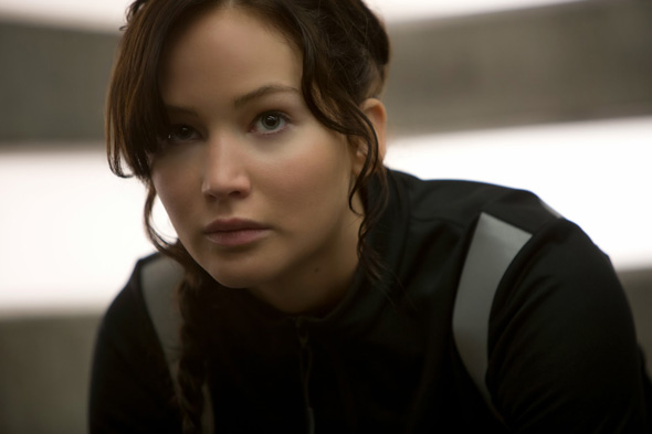 Jennifer Lawrence is back in the hunt in 'Hunger Games: Catching Fire'