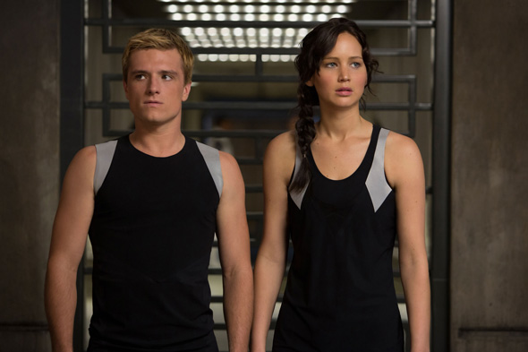 Josh Hutcherson and Jennifer Lawrence are running for their lives again in 'Hunger Games: Catching Fire'