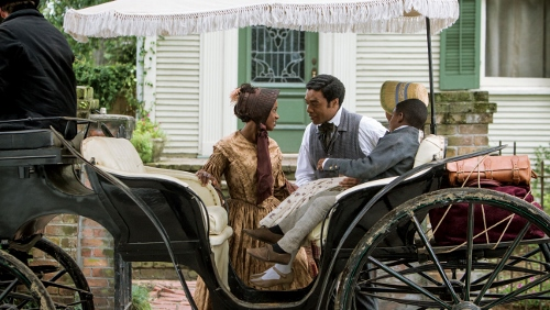 Chiwetel Ejiofor and Kelsey Scott in '12 Years A Slave'