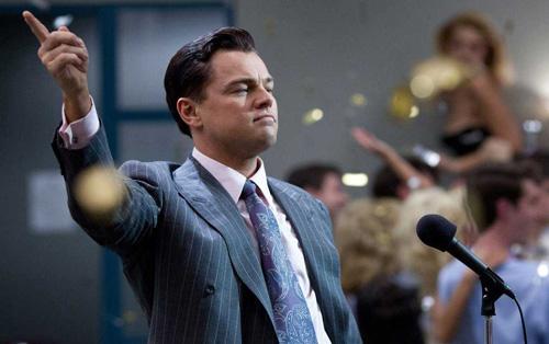 Leonardo DiCaprio in 'Wolf of Wall Street'