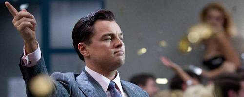 Leonardo DiCaprio in 'Wolf of Wall Street'