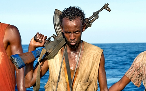Barkhad Abdi leads the pirates who capture 'Captain Phillips'