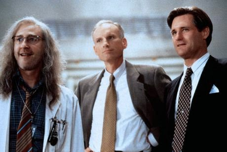 Brent Spiner, James Rebhorn and Bill Pullman in 'Independence Day'