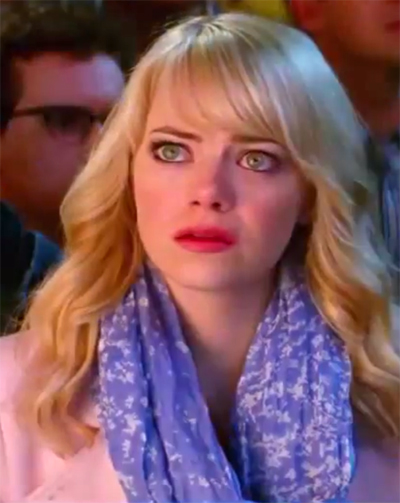 Emma Stone is back as Gwen Stacy in 'Amazing Spider-Man 2'