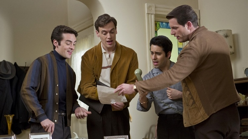 An early moment in the history of the 'Jersey Boys'