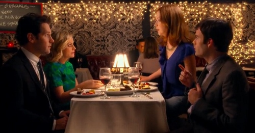 Paul Rudd, Amy Poehler, Bill Hader and Ellie Kemper in 'They Came Together'