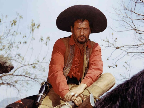 "Eli Wallach as ""Calvera"" in 1960's 'The Magnificent Seven'"