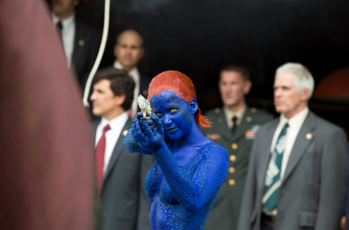 "Jennifer Lawrence is ""Mystinque"" in 'X-Man: Days of Future Past'"
