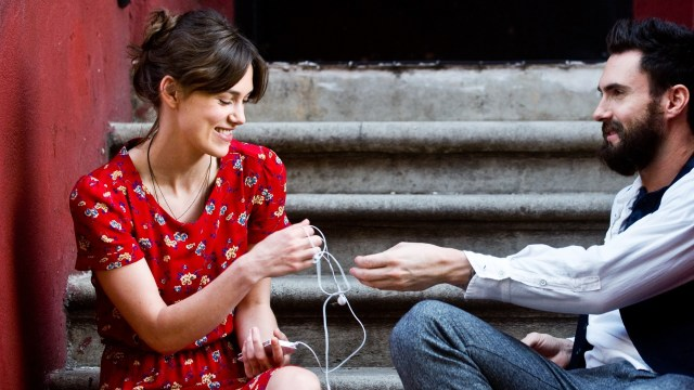 Kiera Knightley and Adam Levine in 'Begin Again'
