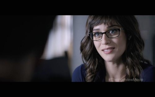 """Lizzy Caplan in """"The Interview"""""""