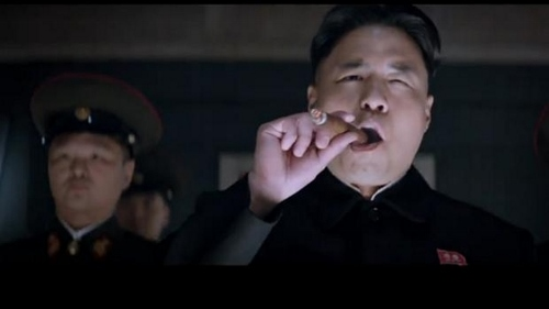 "Randall Park as Kim Jong-un in ""The Interview"""