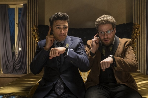 """James Franco and Seth Rogen in """"The Interview"""""""