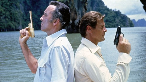 Christopher Lee and Roger Moore face off in 'The Man With the Golden Gun'