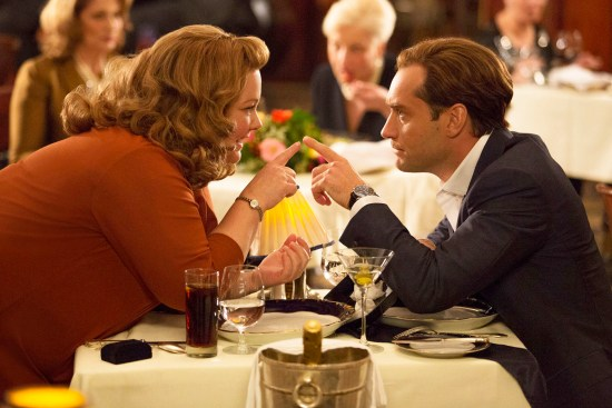 Melissa McCarthy and Jude Law in 'Spy'