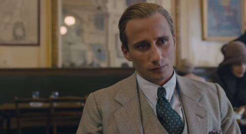 Matthias Schoenaerts in 'The Danish Girl'