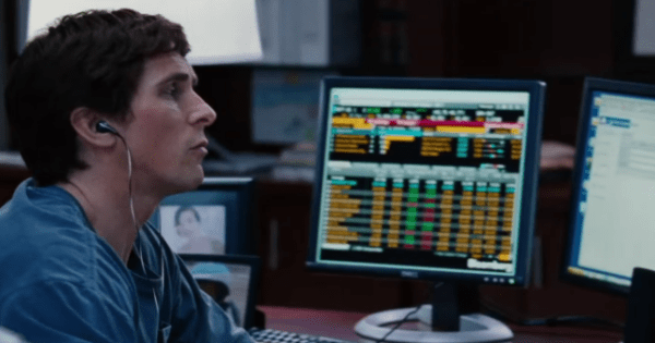 Christian Bale in 'The Big Short'