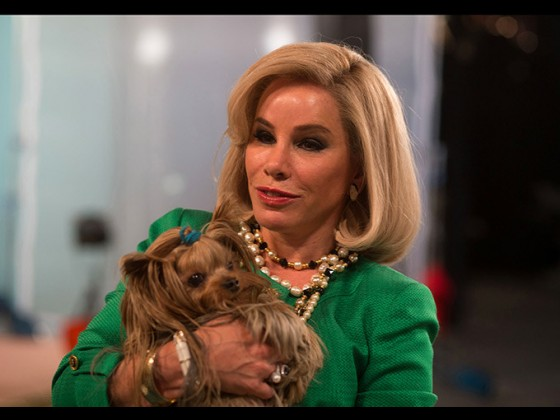 Melissa Rivers plays her mother Joan Rivers in 'Joy'
