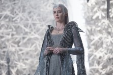 """EMILY BLUNT as the Ice Queen Freya assembles an army in the story that came before Snow White: """"The Huntsman: Winter's War."""" Chris Hemsworth and Oscar® winner Charlize Theron return to their roles from """"Snow White and the Huntsman,"""" joined by Blunt and Jessica Chastain."""