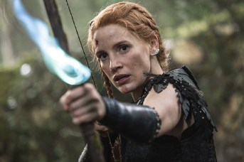 """JESSICA CHASTAIN as the warrior Sara in the story that came before Snow White: """"The Huntsman: Winter's War."""" Chris Hemsworth and Oscar® winner Charlize Theron return to their roles from """"Snow White and the Huntsman,"""" joined by Emily Blunt and Chastain."""