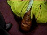 Samuel L. Jackson looked surprised at his demise in 'Jackie Brown'