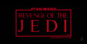 Original title to 'Star Wars VI' (or three, depending on your perspective) was 'Revenge of the Jedi'