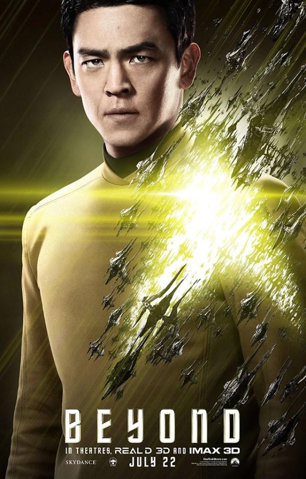 Sulu poster for 'Star Trek Beyond'