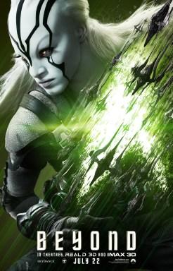 Jaylah poster for 'Star Trek Beyond'