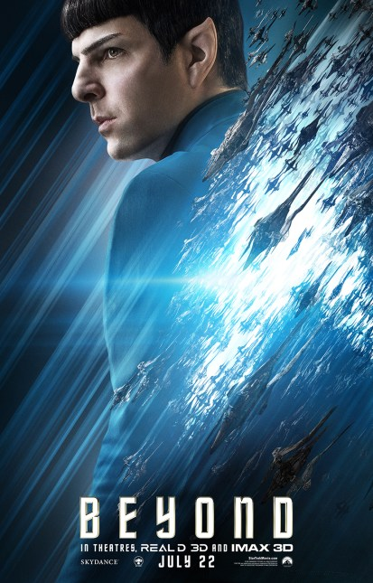 Spock poster for 'Star Trek Beyond'