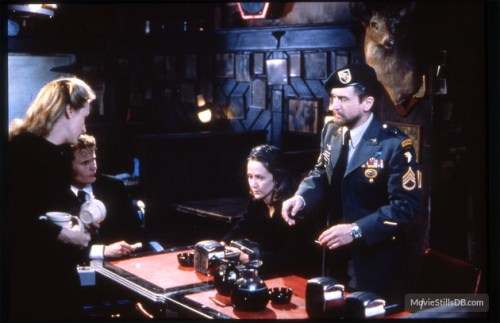 Meryl Streep, John Savage, Rutanya Alda and Robert DeNiro in 'The Deer Hunter'