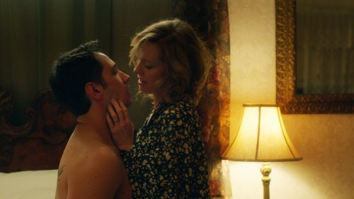 Matt McGorry and Amy Hargreaves in 'How He Fell in Love'