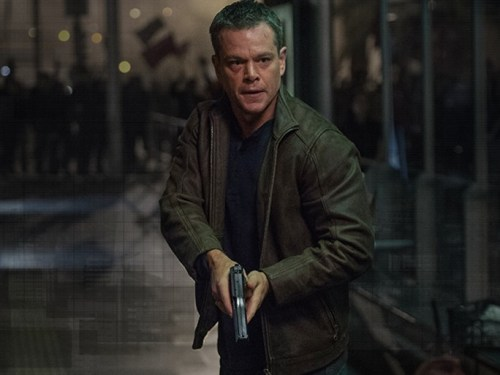 Matt Damon in 'Jason Bourne'