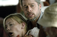 Brad Pitt and Cate Blanchett co-star in 'Babel'