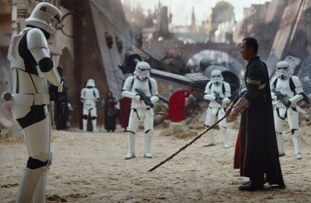 Donnie Yen stars as Chirrut Imwe in 'Star Wars: Rogue One'