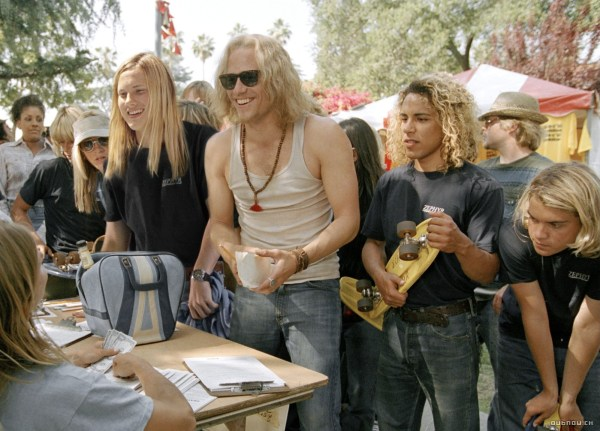 The late Heath Ledger stars in 'Lords of Dogtown'