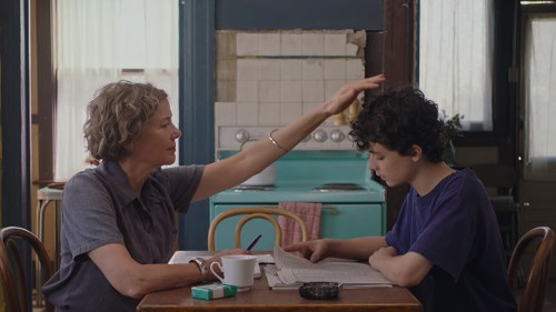 Annette Bening and Lucas Jade Zumann in '20th Century Women'