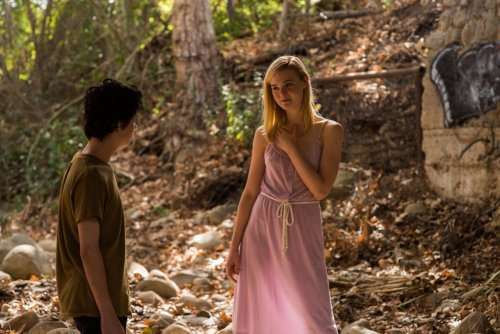 Lucas Jade Zumann and Elle Fanning in '20th Century Women