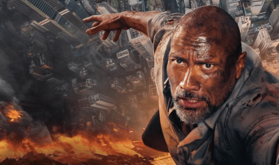 Dwayne 'The Rock' Johnson hangs on for 'Skyscraper', a potential box office dud in a career of explosive success