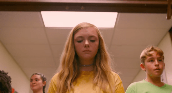 Elsie Fisher in 'Eighth Grade'