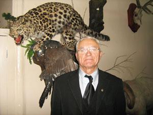 Борис Дицевич отмечает, что духи в тайге приходят к чувствительным людям.