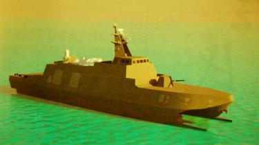 Plano das corvetas Stealth que Taiwan vai construir