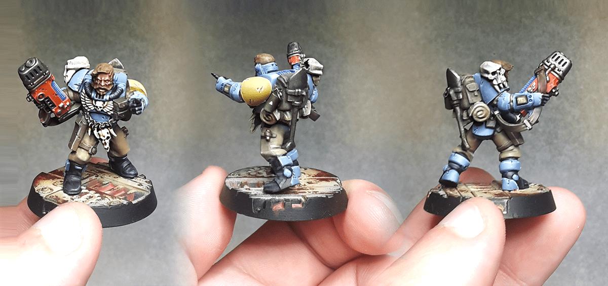 Space Wolves - Scouts Plasma Gun