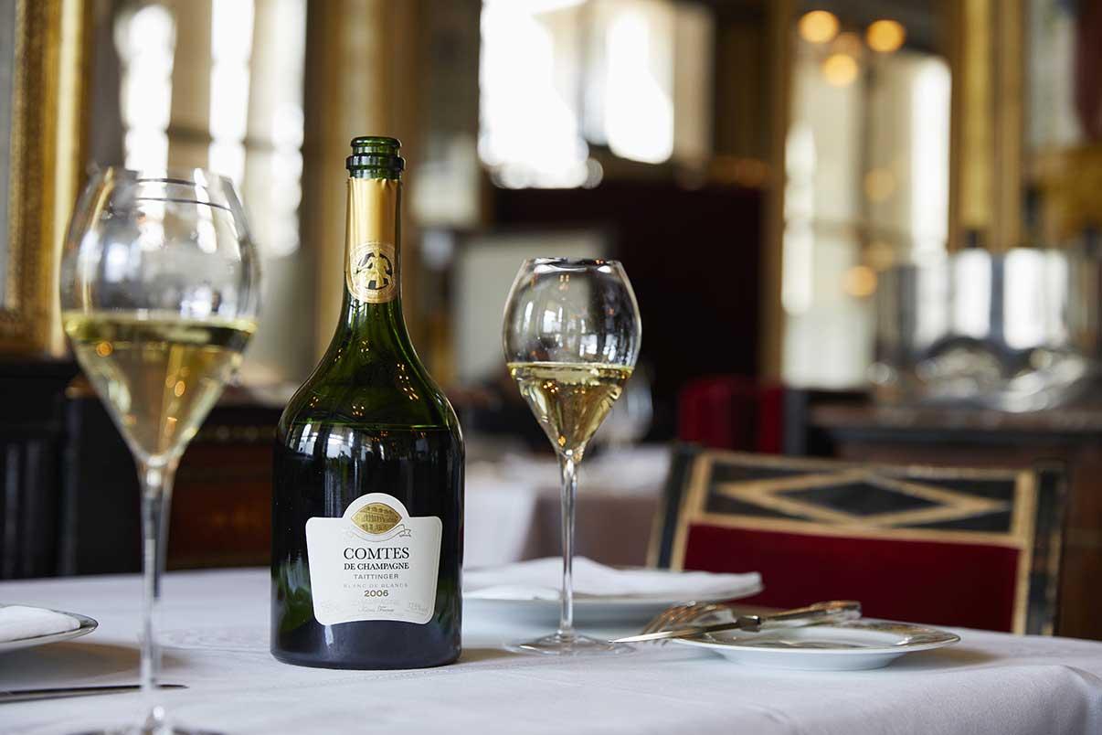 accueil champagne taittinger