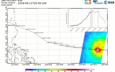 SaVoir: trajectory regions for hurricane monitoring using Sentinel-1