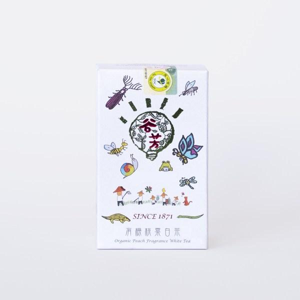 Organický bílý čaj Sanxia