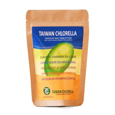 chlorella tabletten werking