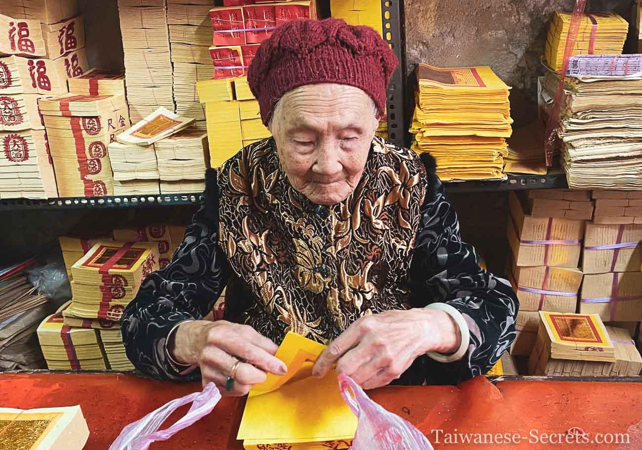 91 year old taiwanese woman